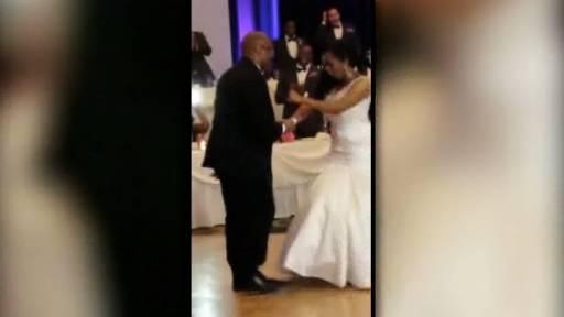 Bishop and His Daughter Work Wedding Party Dance Floor