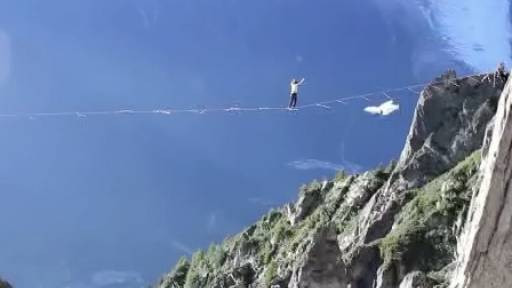 Several Extreme Activities Merge All at Once Over Mountains