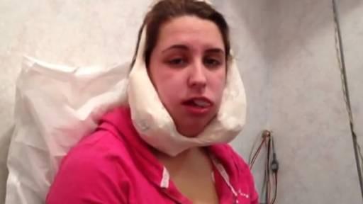 Original Video: Wisdom Teeth Girl Thinks She's Hannah Montana