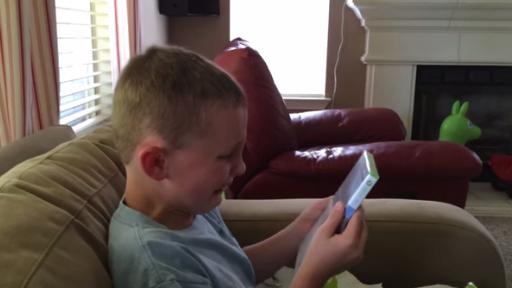 Boy's Priceless Reaction to Xbox Gift