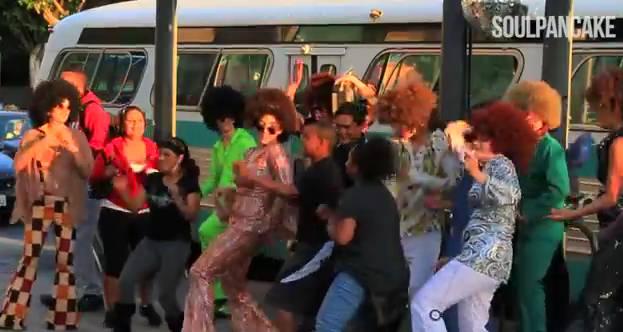 Bus Stop Disco Surprise Rainn Wilson Soul Pancake Dance