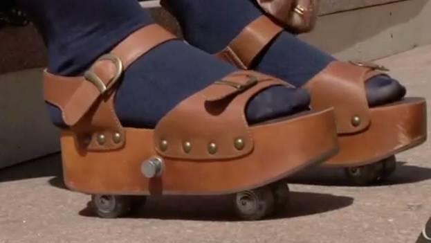 sandal roller skates