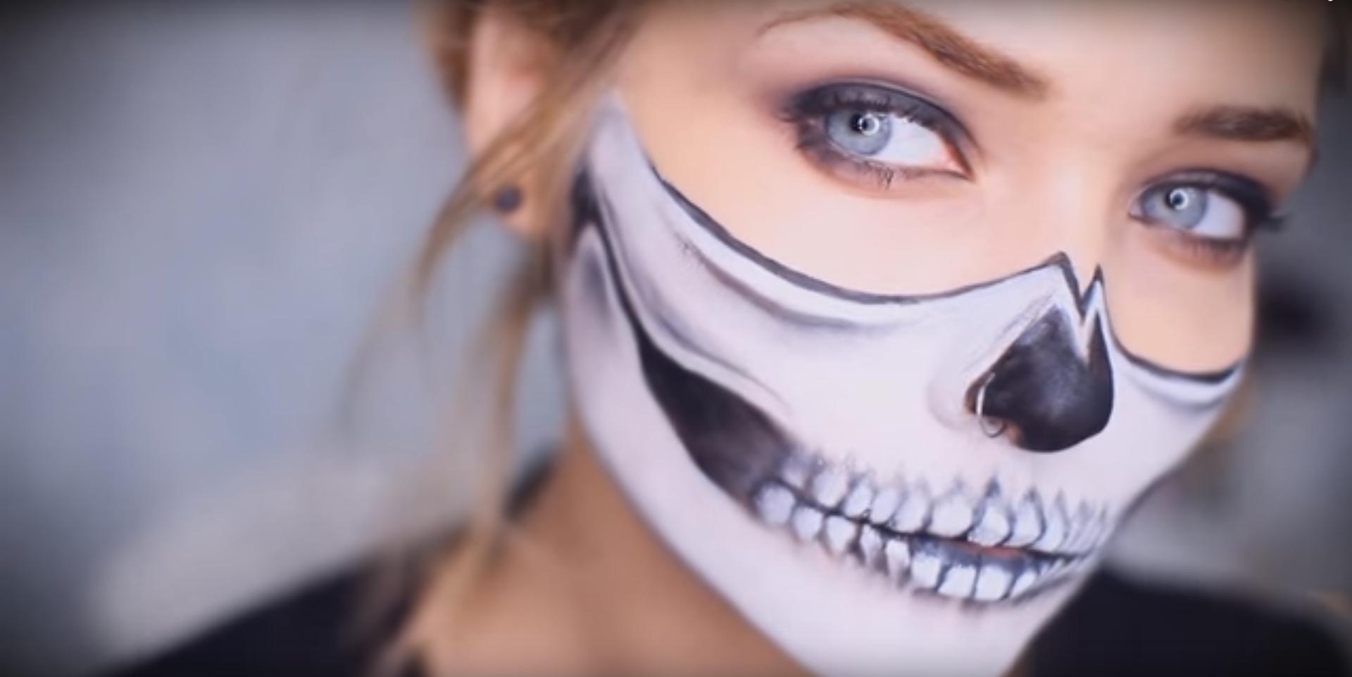 Cheap (and Creative) Halloween Makeup Tutorial RTM - Cheap Halloween Makeup