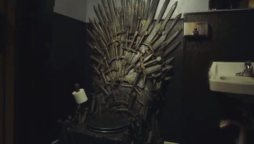 Best Seat For 39 Game Of Thrones 39 Is A Toilet Rtm