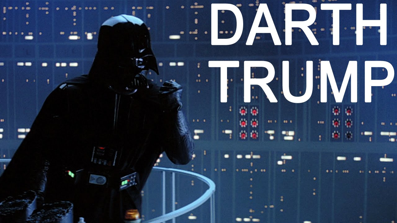When You Replace Darth Vader S Voice With Donald Trump S