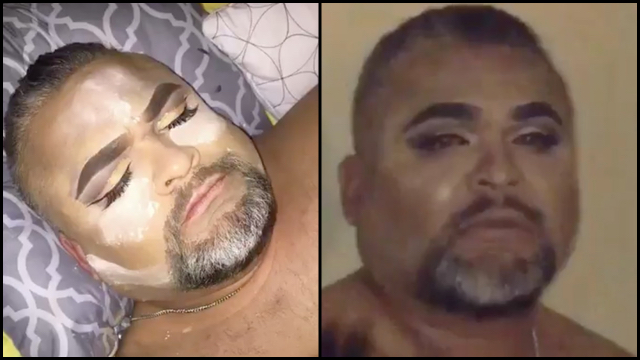 Daughter Gives Her Napping Dad A Fierce Makeover Rtm