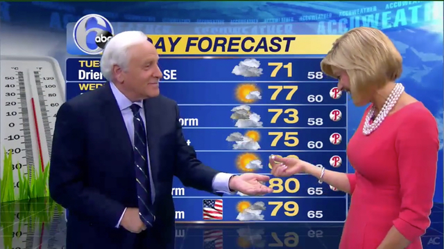 News Anchor Helps Meteorologist Find Her Missing Earring