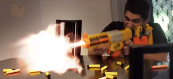 And You Thought Your Nerf Battle Was Awesome Rtm