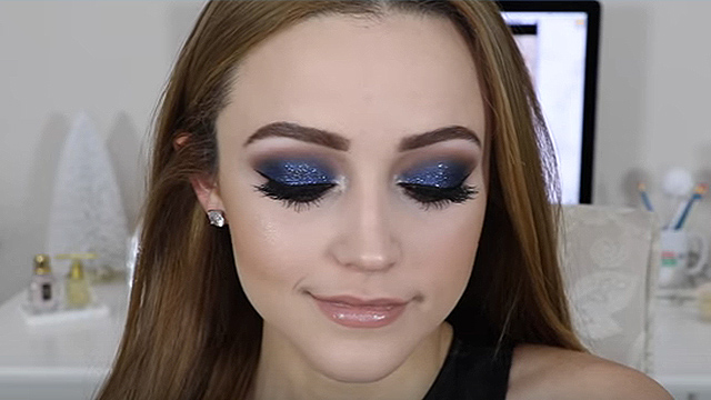Say Goodbye To 2016 With Glitter Makeup RTM - RightThisMinute
