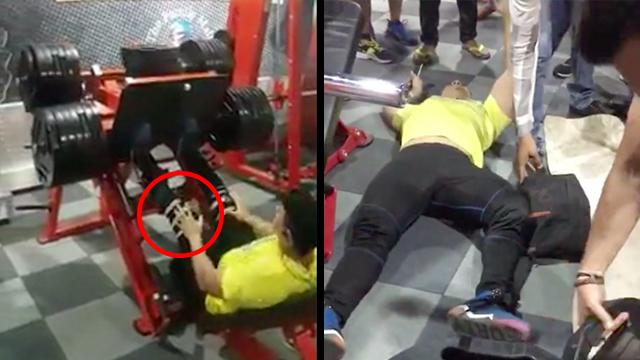 This Guy Should Ve Skipped Leg Day Rtm Rightthisminute