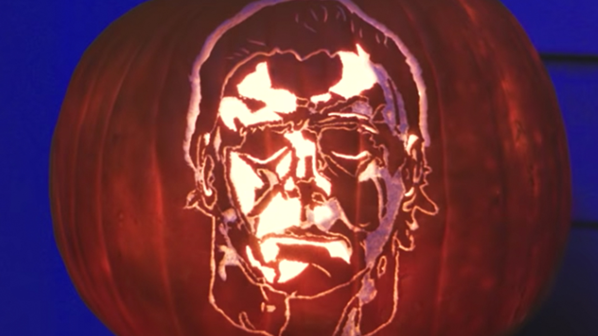 Spooky Michael Myers Halloween Pumpkin Carving Rtm Rightthisminute