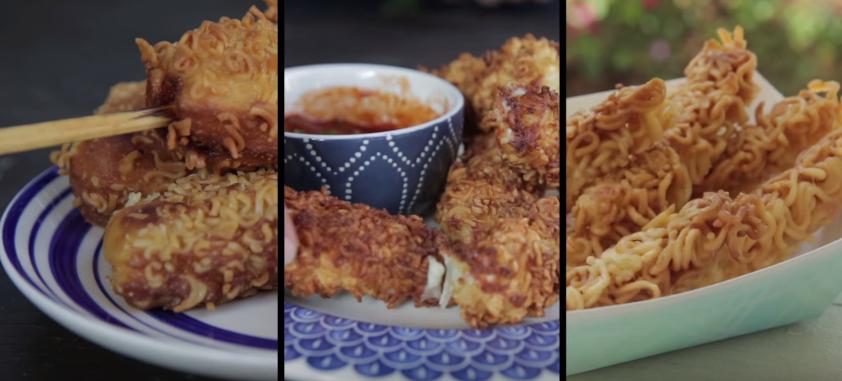 Yummy Deep-Fried Ramen Recipes