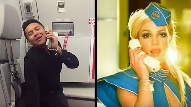 Britney Spears - Toxic   Flight Attendant ...  Toxic Britney Spears Flight Attendant