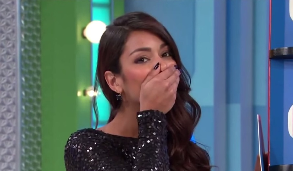 Price Is Right Model Gives Away Car