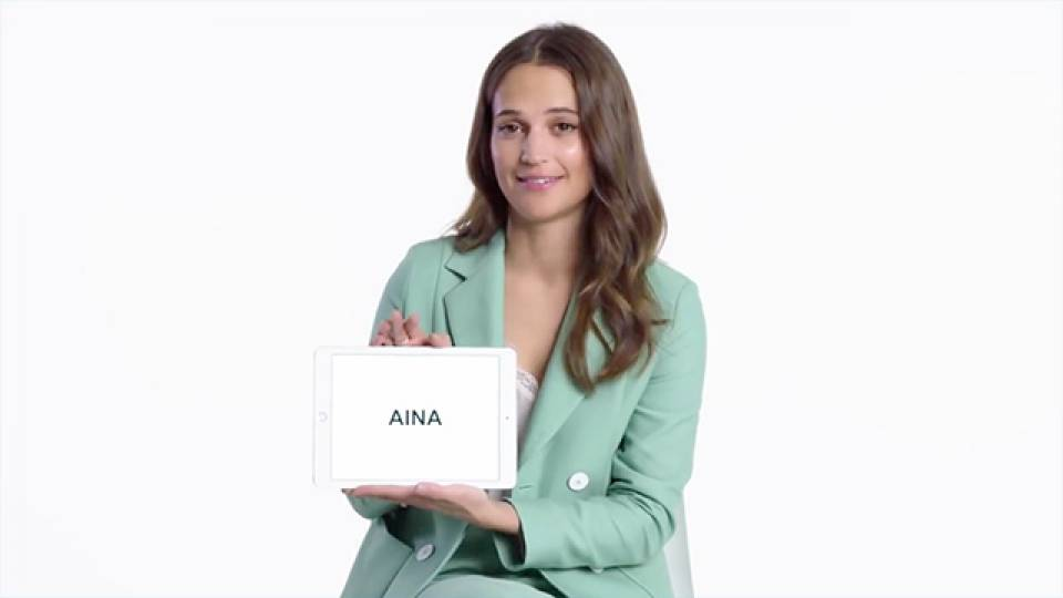 Alicia Vikander Detail: Need Swedish Slang Explained? Ask Alicia Vikander!