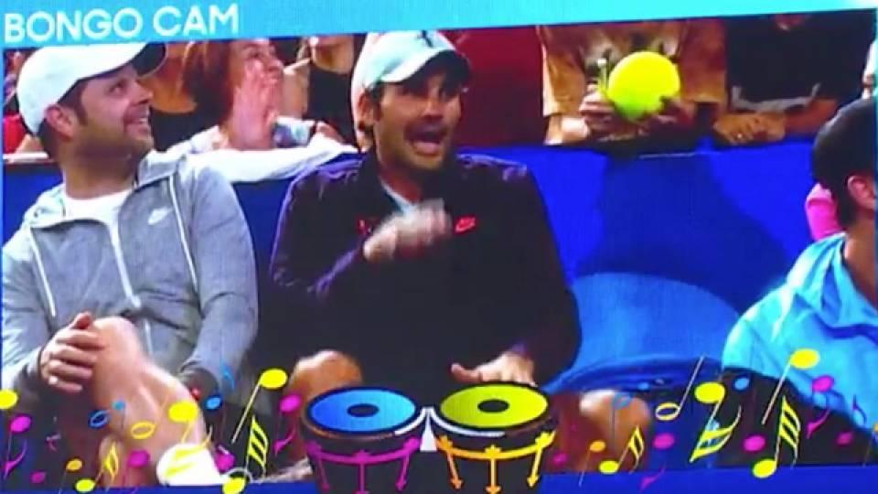 Tennis Pro Roger Federer Gets Down On Bongo Cam | RTM