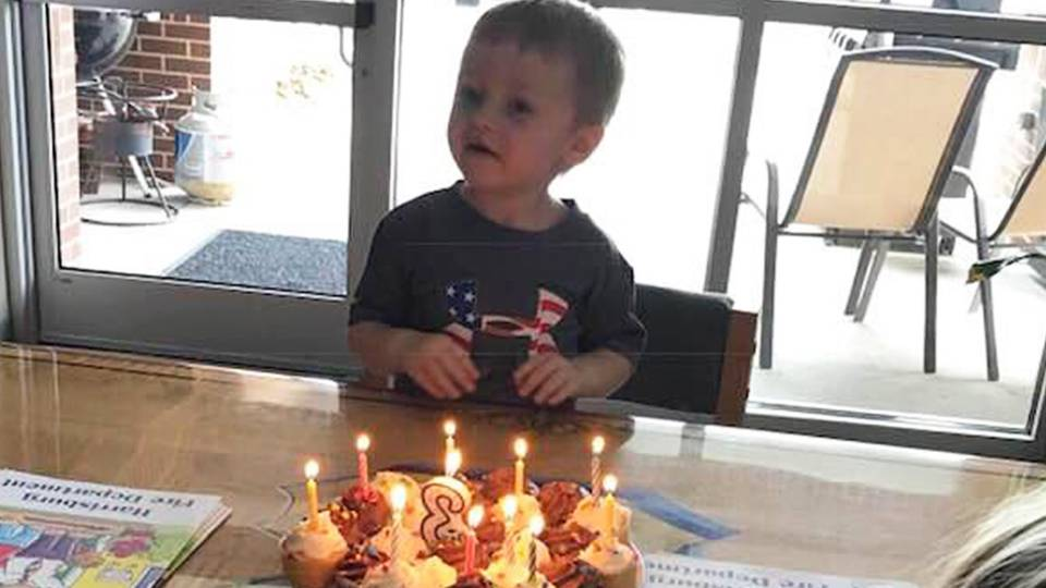 Firefighters Surprise Boy With Special Birthday Celebration