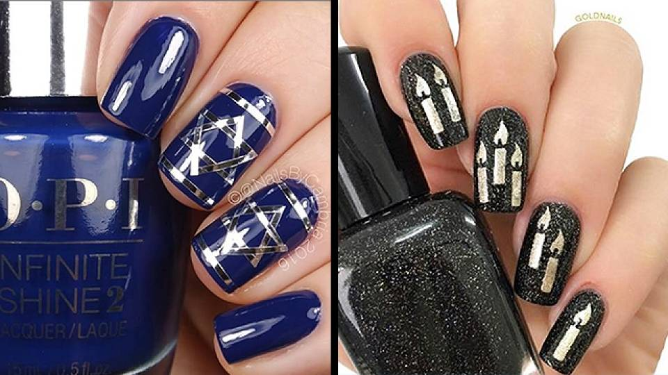 Get Fancy With Cool Hanukkah Nails | RTM - RightThisMinute