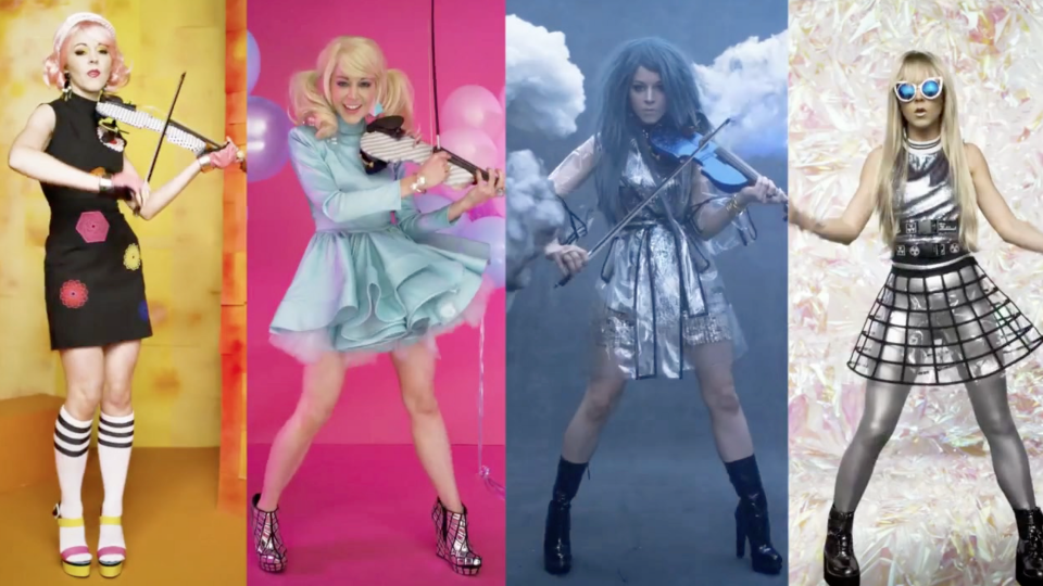 lindsey stirling clones awe the internet in new k pop music