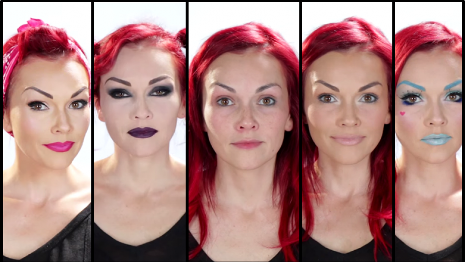 Makeup Artist Transform Her Face