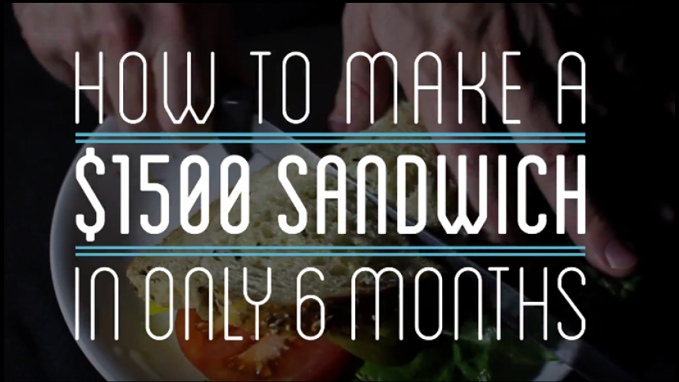 how to make a sandwich from scratch video