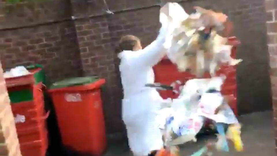 College Student's Trash Fail Is A Perfect Metaphor For