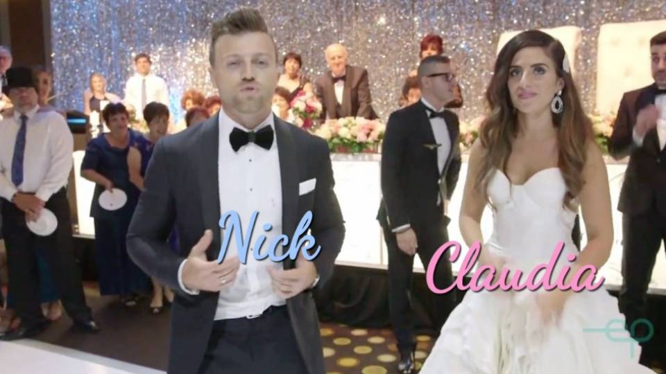 Australias Dancing With The Stars Celeb Turns Wedding Into Music Video Montage