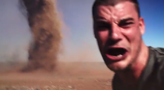 The Selfie Might Be Real, But the Dust Devil Is a Different Story ...
