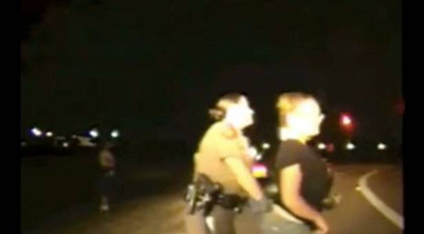 Right! Female corrections officer strip search