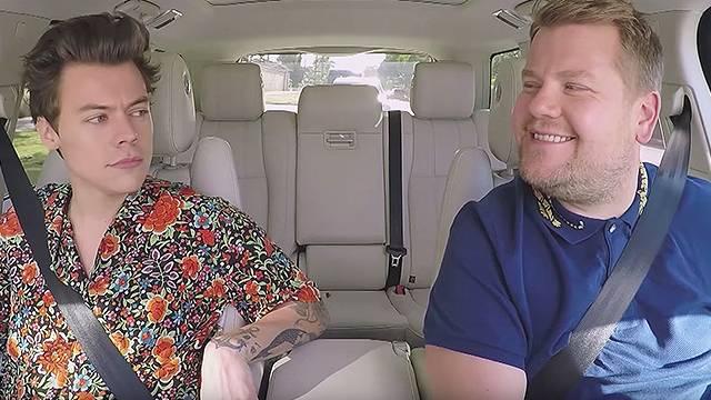 It S Harry Styles Turn In The Hot Seat On Carpool Karaoke Rtm