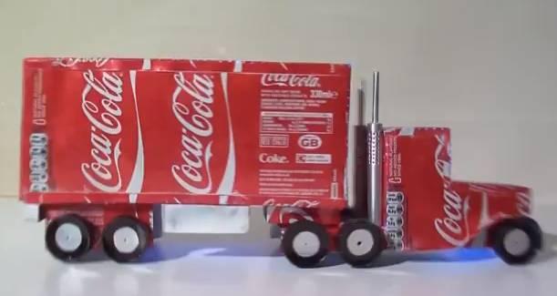 Original Video How To Make A Coca Cola Lorry Christmas