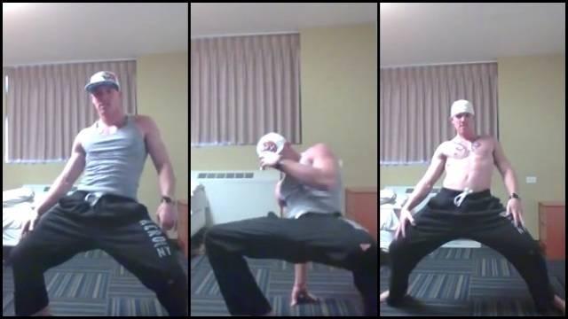 Stripper audition video clip