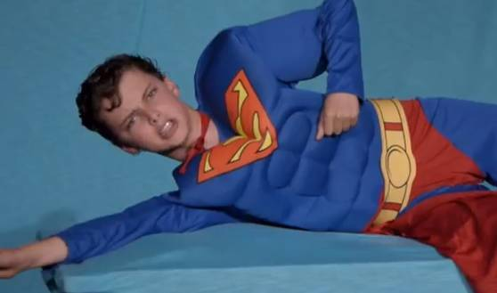 Man of steel now also a middle school musical rtm rightthisminute voltagebd Choice Image