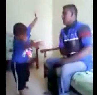 GRAPHIC: Stepfather Abuses Son | RTM - RightThisMinute