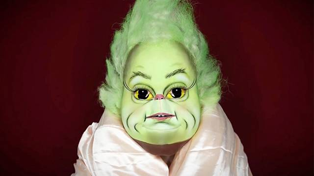 sc 1 st  RightThisMinute & Becoming Baby Grinch With Only Makeup | RTM - RightThisMinute