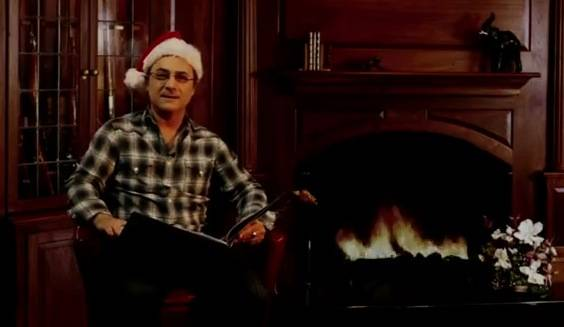 original video twas the night before christopher walken a classic rtm rightthisminute - Twas The Night Before Christmas Youtube