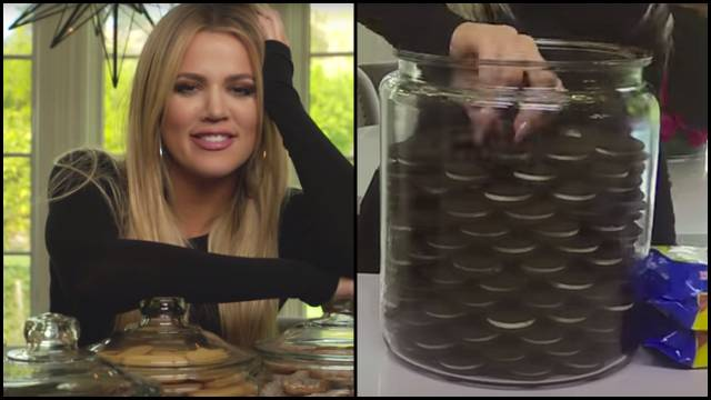 Khloe Kardashian Cookie Jar Adorable Khloe Kardashian Is Very Anal About Her Cookie Jar RTM