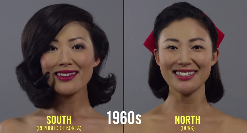 Hair Style In North Korea : 100 Years of Hair and Makeup Styles in Korea RTM - RightThisMinute