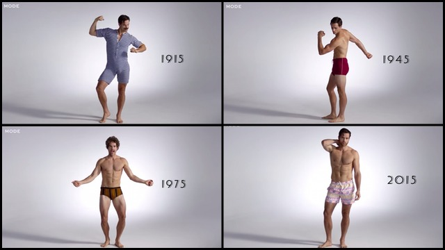 684fc1b08b005 The Evolution of Men's Swimwear From 1915 to Today | RTM - RightThisMinute