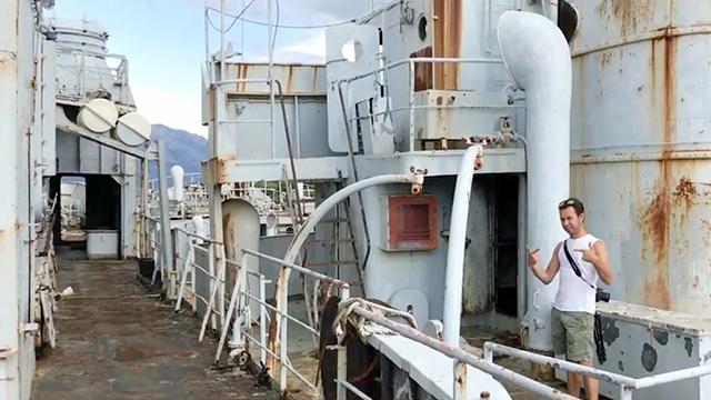 Exploring Inside Abandoned Yugoslavian Navy Ship Rtm