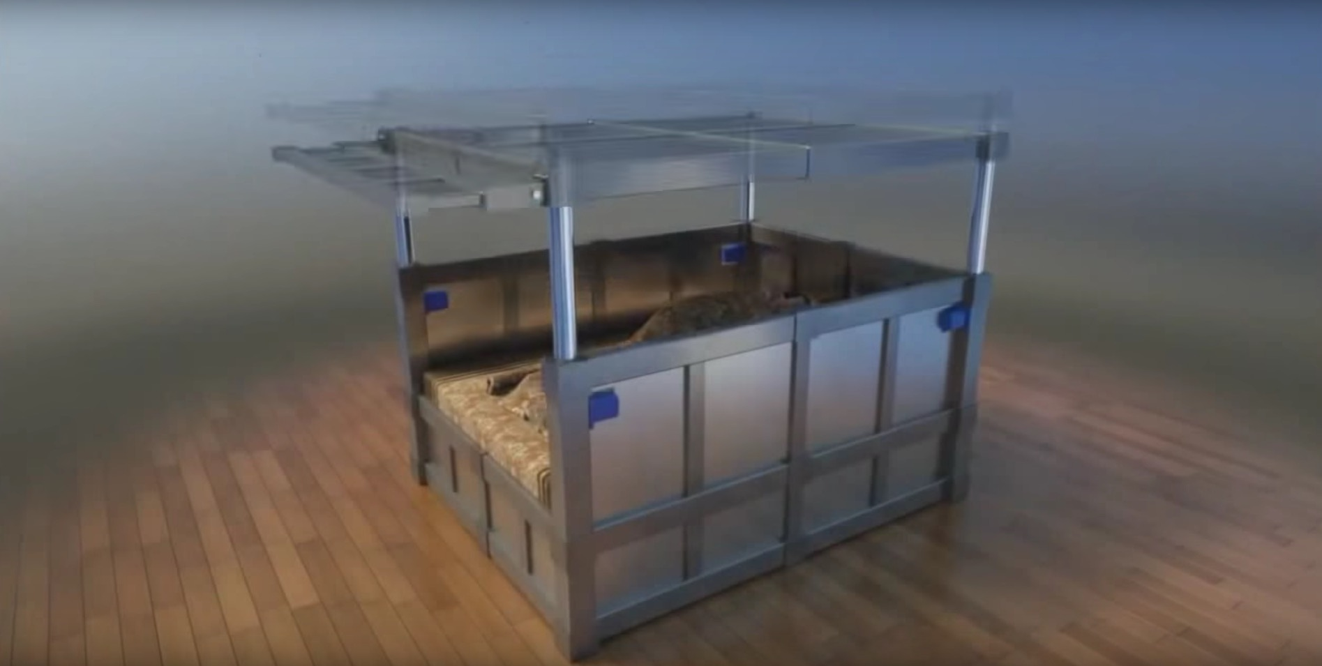 This Bed Is The Future Of Sleeping Through An Earthquake