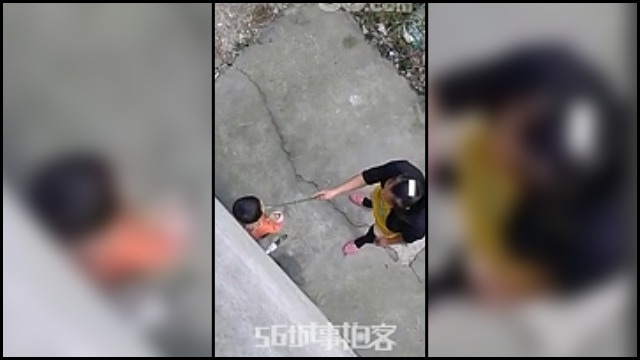 Mother spanking girl for playing ill - 4 1