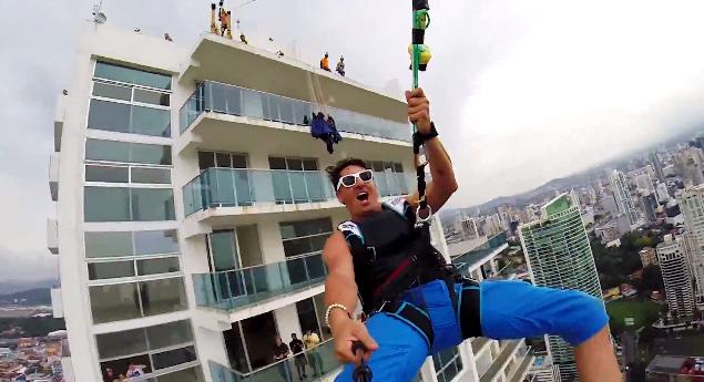 devin supertramp brings an epic zipline to panama city