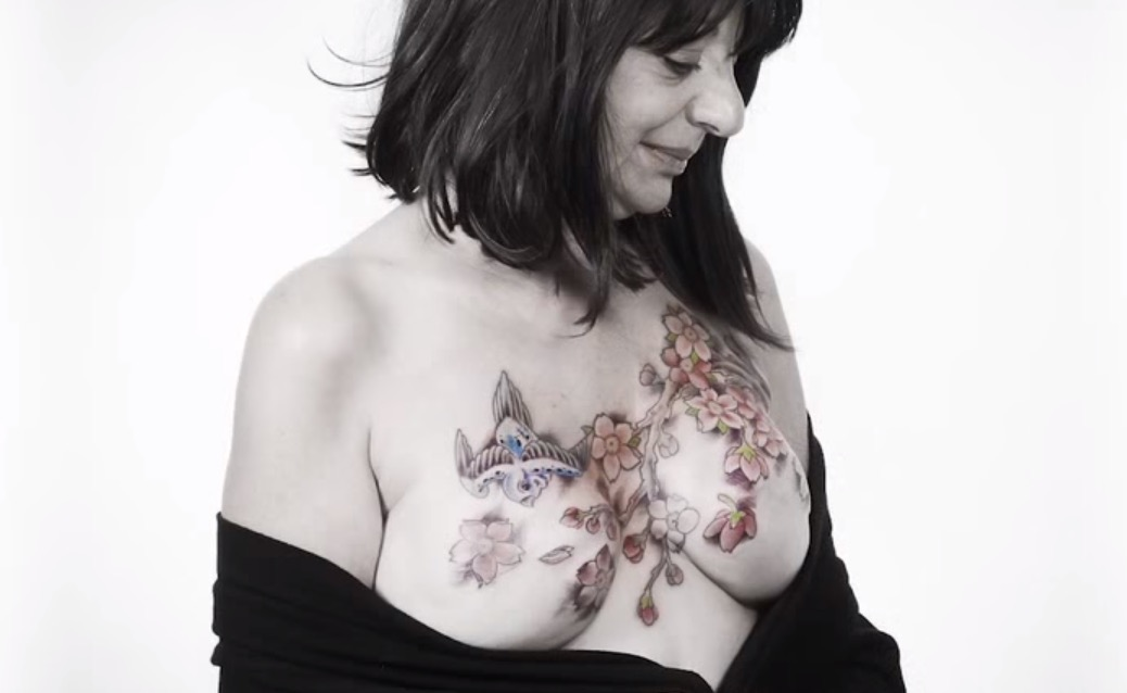 Talented Tattoo Artists Create Beautiful Art on Breast Cancer Survivors |  RTM - RightThisMinute