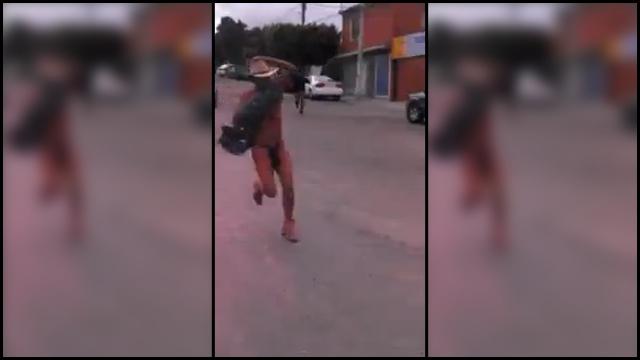 Street girl video tijuana cum