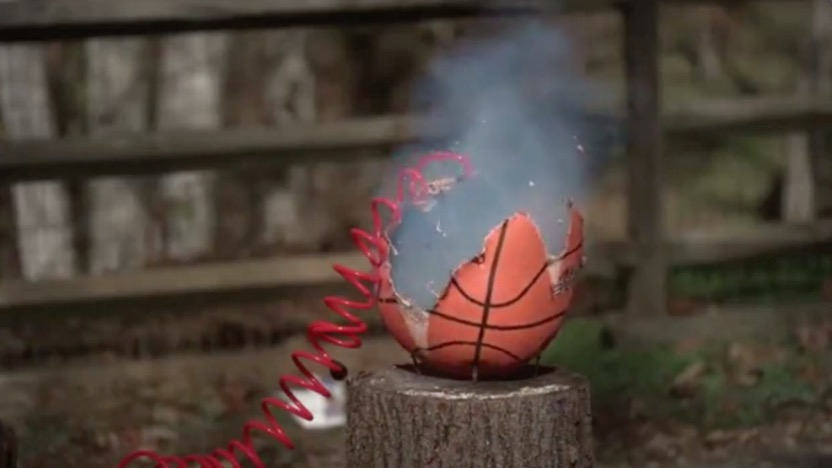 Mobile Air Compressor >> This is What it Looks Like When a Basketball Gets Filled
