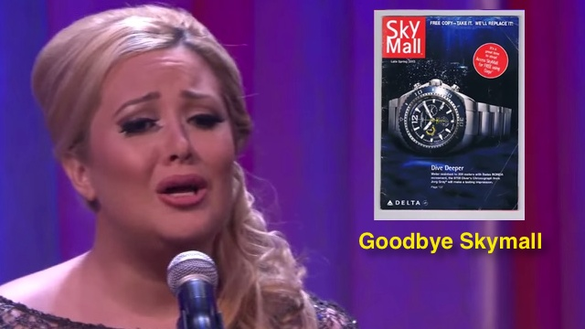Definitely the Real Adele' Sings a Lament to Skymall | RTM