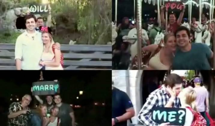 Happiest Proposal On Earth Rtm Rightthisminute