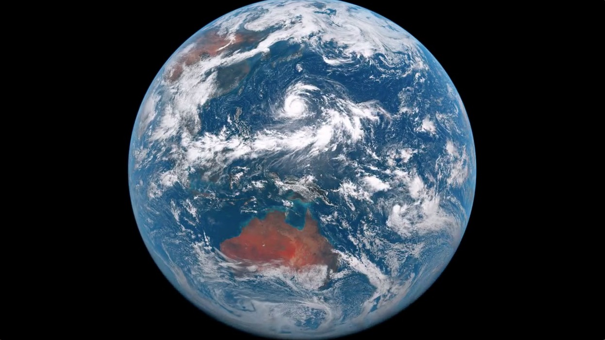 Satellite Captures Stunning Images Of Planet Earth Rtm