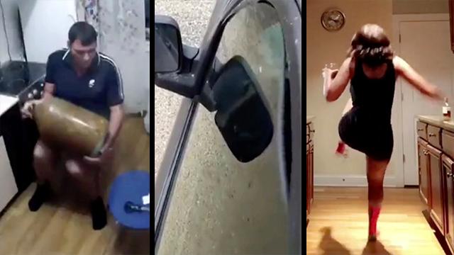Real Or Fake Apple Cider Mishap Car Warps To Bass Dance